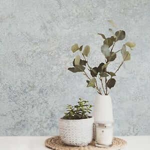 Plain-Modern-foil-silver-gray-metallic-tan-faux-crushed-silk-textured-Wallpaper