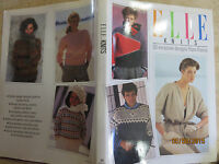 Elle Knits By Century Hutchinson (1986, Hardcover) 50 Designs From France