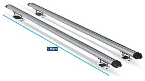 Streetwize Aluminium Roof Rack Rails Cross Bars for Ssangyong Rexton Sport 2018/>