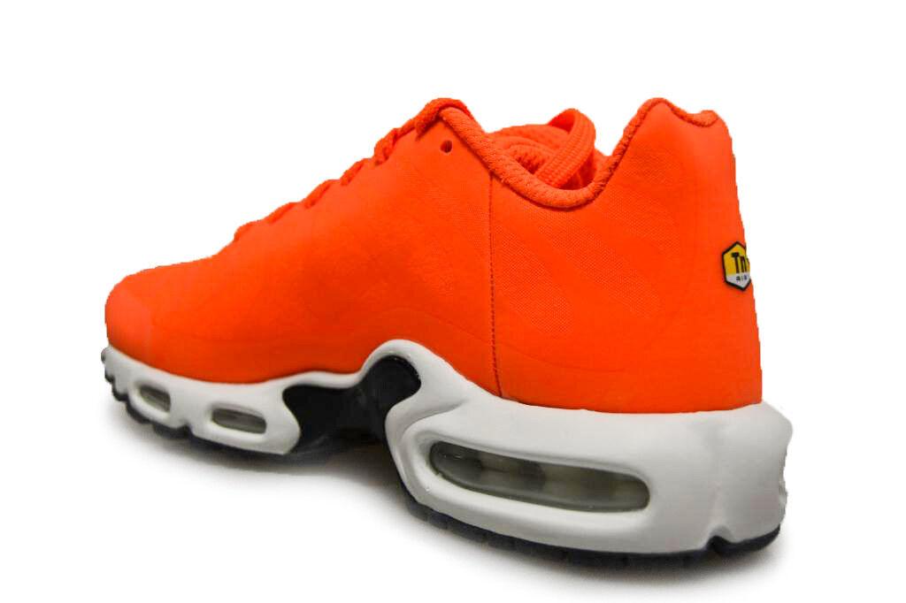Uomo  Nike Air Max Plus Plus Plus NS GPX - AJ7181 800 - Orange Trainers 8e3b4b