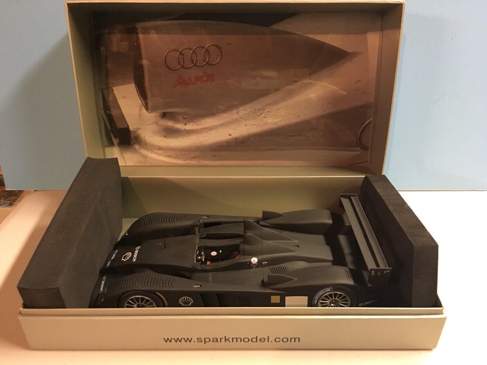 1 18 Spark 2006 Audi R10 TDI Test Car 18S009 Stored In Box