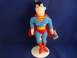 WARNER-BROS-STUDIO-STORE-SUPERMAN-11-034-BEAN-PLUSH-D-C-COMICS-NEW-TAGS-SPIFFY