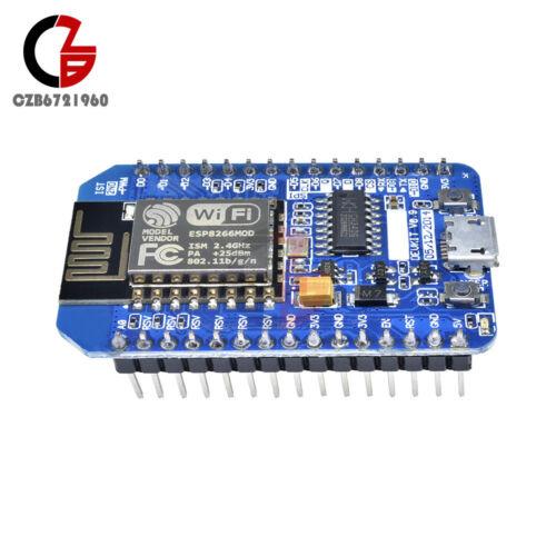 NodeMcu Lua ESP8266 CH340 WIFI Network Development Board Module Latest Firmware