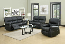 New Loveseat Chaise Couch Recliner Sofa Chair Leather Accent Chair PR