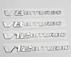 2Pcs-V8BITURBO-V12BITURBO-Emblem-Fender-Sticker-Decals-for-Mercedes-Benz