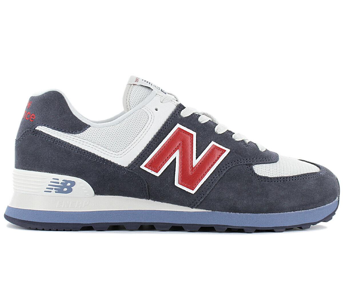 New Balance Classics 574 Men's Sneakers Ml574 Ml574esc shoes Trainers bluee New