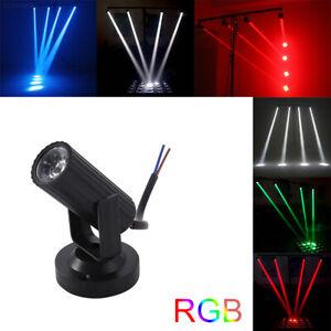 LED-Pinspot-Punktstrahler-Spiegekugel-Spot-Licht-DJ-Buhnenlicht-RGB-Party-Effekt