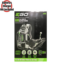 Ego 145 MPH 600 CFM 56-volt Lithium-ion Cordless Backpack Blower 5.0ah Battery