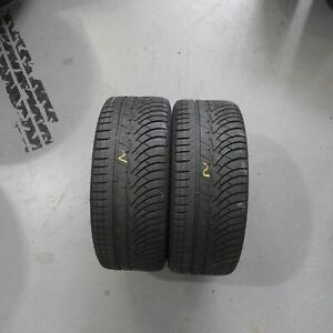 2x Michelin Pilot Alpin PA4  235/35 R19 91W Winterreifen DOT 1518 5,5 mm