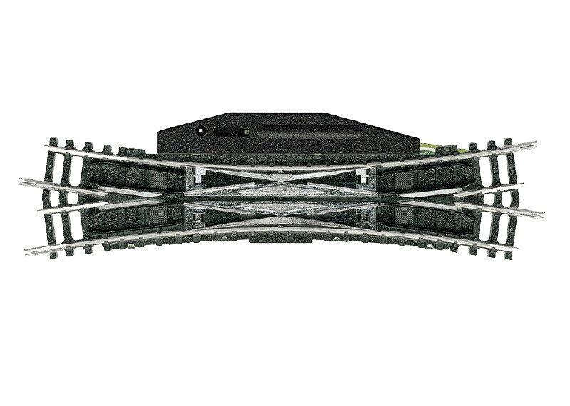 Trix Minitrix N 14960-elettromagnetici doppio incrocio morbida - 15   Merce Nuova