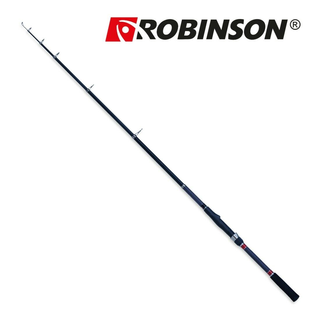 Karpfenrute Raubfischrute  ROBINSON CARBONIC T-STRONG  3,3m   370g   Wg.50-120g