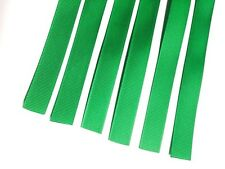 6 x Snare Wire Straps Ribbon String Cord For Snare Drum Wires GREEN high quality
