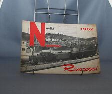 NB CATALOGUE TRAIN RIVAROSSI  HO  NOUVEAUTES  1962