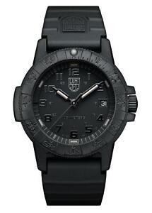 Luminox Leatherback Sea Turtle 0300 Black CARBONOX Quartz Men Watch XS.0301.BO.L