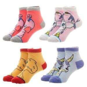 0d92ead58f8c Children's Socks Digimon Ankle Socks 4 Pairs Set Kids Youth Digital ...