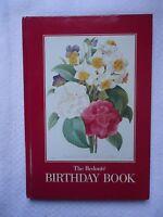 The Redoute Birthday Book Unused Hardcover Birthday Day Journal