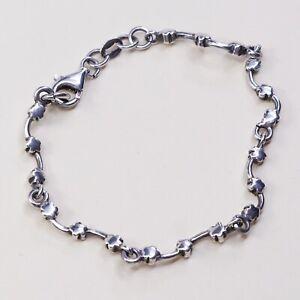 5-5-vintage-sterling-silver-handmade-bracelet-solid-925-silver-flower