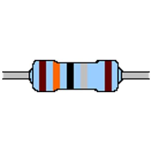 Metal Film Resistor 1,8 Ohm 1/% 0,6w Design 0207 Seat