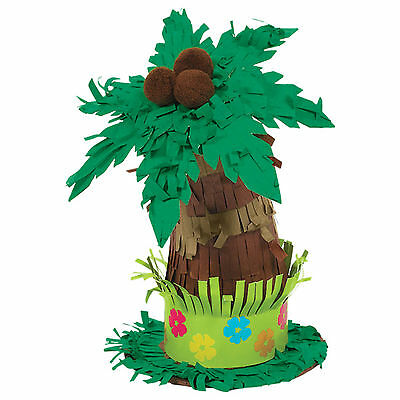Tropical Hawaiian Luau Tiki Party Mini Palm Tree Table Centrepiece Decoration