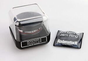 Rodenstock Rogonar-s 2,8/50mm Vergrößerungsobjektiv Enlarger Lens 10072685 Analoge Fotografie