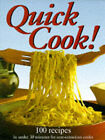 Quick Cook! by Marshall Cavendish (Hardback, 1997)
