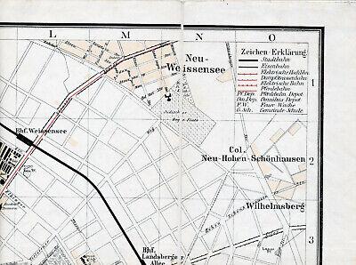 Greifswalder Str. Neu-weißensee 1895 Orig. Teilkarte/ln. Neu-hohenschönhausen Angenehm Bis Zum Gaumen