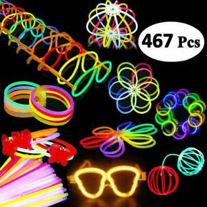 Pack-Of-467-Light-Up-Toys-Glow-In-The-Dark-Birthday-Christmas-Year-Party-Sup