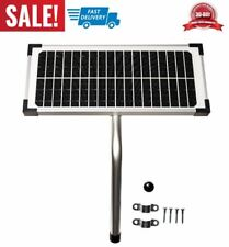 10 Watt Solar Panel Kit FM123 for Mighty Mule Automatic Gate Openers