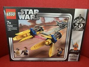 LEGO-STAR-WARS-Anakin-039-s-Podracer-20th-Anniversary-Edition-75258-BNISB