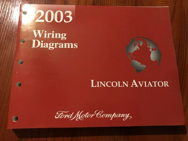 2003 Lincoln Aviator OEM Wiring Diagram | eBay