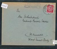 94218) DDR, Landpost - Ra2 Gehrendorf über Oebisfelde, Brief 1938