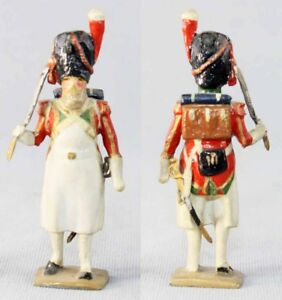 Vertebrae Sapeur Legion Suisse / Soldat de jouets anciens