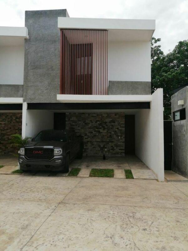 Renta, Townhouse en privada Aqua Nativa.Mérida, Yuc.