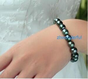 7-5-8-034-Charming-AAA-10-11mm-Real-natural-tahitian-black-pearl-bracelet-14k-Gold