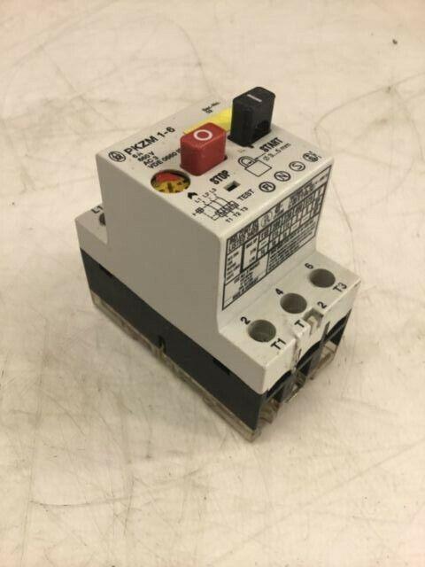 Klockner Moeller Manual Motor Starter  Pkzm 1