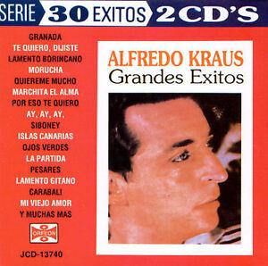 Alfredo Kraus : Grandes Exitos (Greatest Hits) : 2-CD