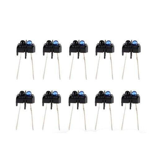 10pcs  TCRT5000 Reflective Photoelectric Switch Infrared Optical Sensor NEW CA