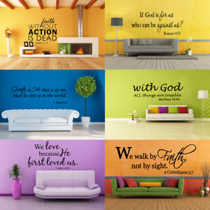 Bible-Verse-Wall-Decals-Christian-Quote-Vinyl-Wall-Art-Stickers-Religious-Decor