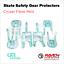 miniature 9 - Roller Skate Safety Gear Protecteurs-croxer taille moyenne-Runner Noir Ou Vert Menthe