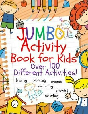 Jumbo fun coloring activity books