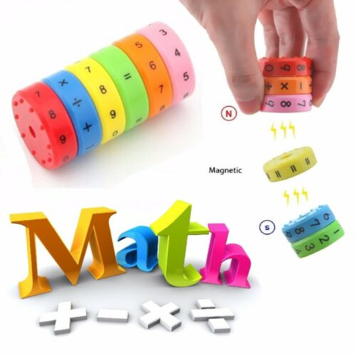 Learning Educational Toys for Kids Puzzle Cube Magic Axis Magnetic Mathematics