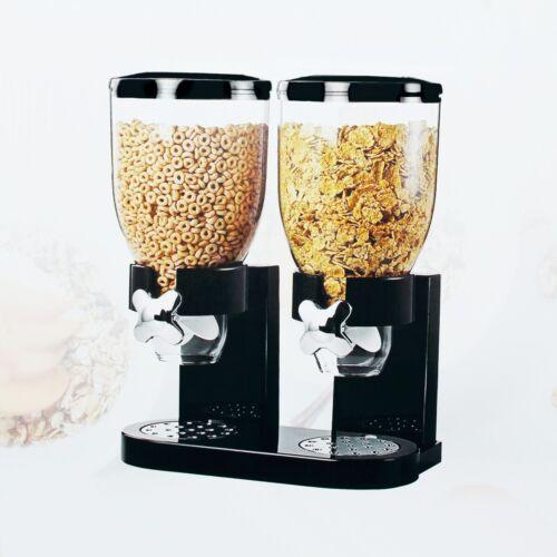 2x 3,5L LÖWENTHAL® Müslispender Doppel Cornflakes Cerealien Müsli Spender Dose