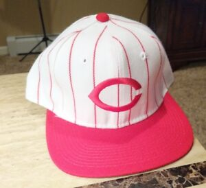 pretty nice 568b0 b67c5 Image is loading New-Sports-Specialties-Throwback-CINCINNATI-REDS-Hat-Cap-