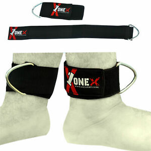 Ankle-Cuffs-Double-D-Ring-Cable-Attachment-Leg-Weight-Lifting-Straps