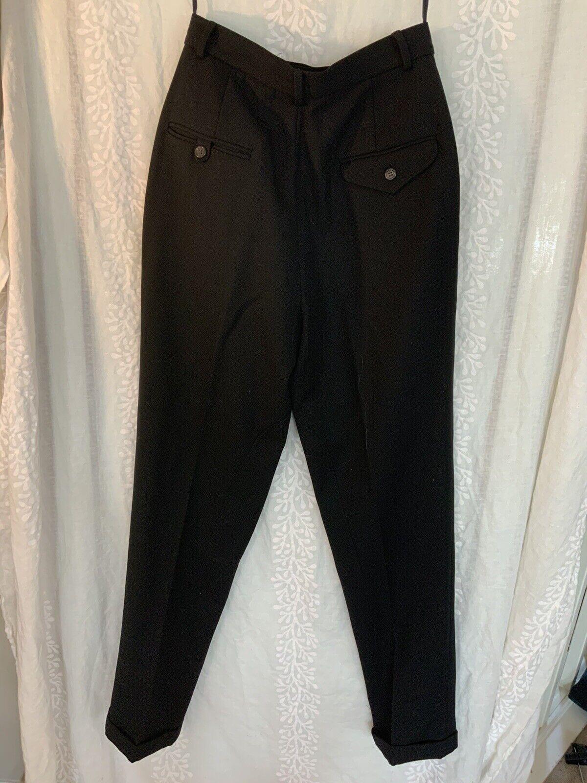 Vintage Ralph Lauren pants black 80s 90s - image 5