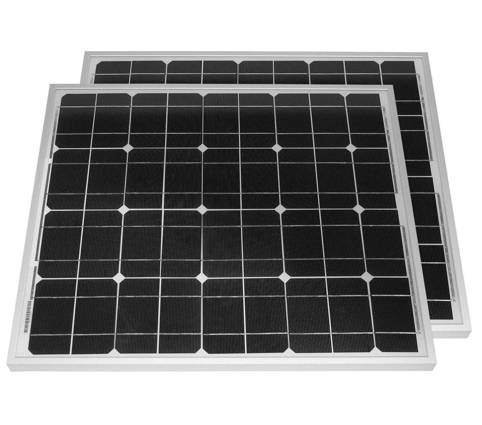 Kit Pannello Solare 50 Watt : W modulo solare pannello fotovoltaico cella watt