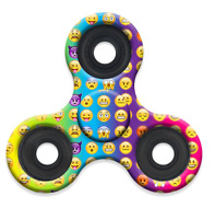 Emoji Fidget Assorted Hand Tri-spinner Stress Relief Manipulative Play Toy on sale