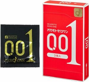 Bao cao su Okamoto Zero One 0.01mm 3 miếng từ Nhật Bản 4547691749192    eBay