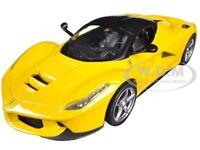 Ferrari Laferrari F70 Hybrid Yellow 1/24 Diecast Model Car Hotwheels Bly63