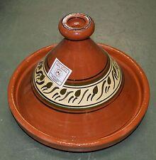 Moroccan Cooking Tagine Extra LARGE Terracotta Cook Pot Tajine Tangine Lead Free